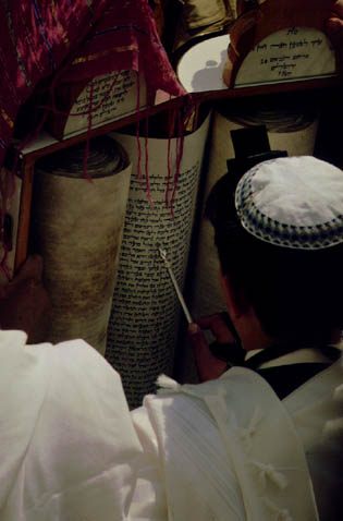 Reading from Torah
