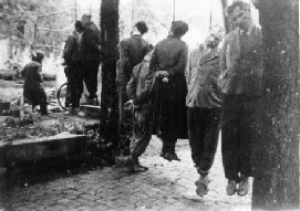 Jews hanged in Hungary