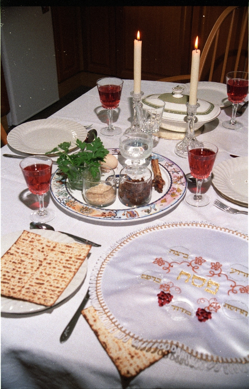 why do we recline on passover