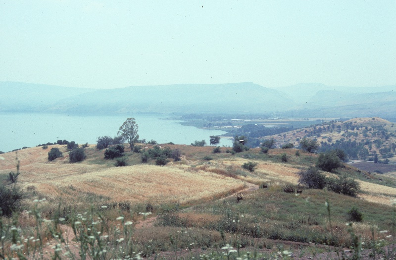 Kinneret (Sea of Galilee) from the Mount of Beatitudes