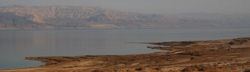 The mountains of Moav beyond the Dead Sea, seen from the Israeli side
