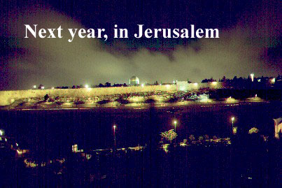 Next year in Jerusalem    (c)