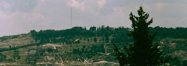 The Hill of Evil Counsel in Jerusalem  -  Location of the United Nations presence.
